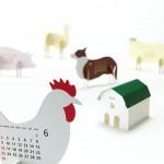 calendario creativo granja